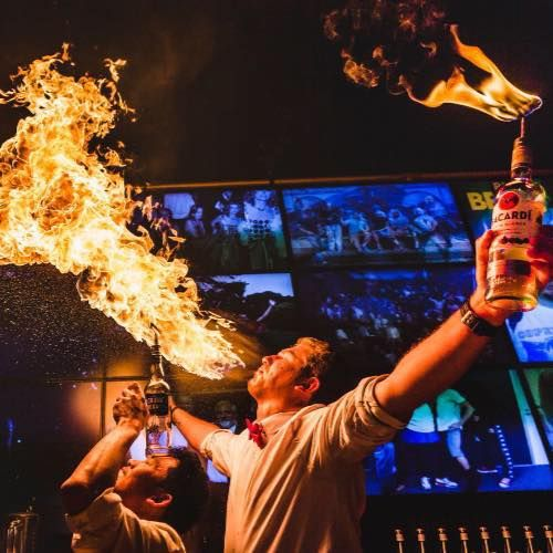 Flame Bartenders